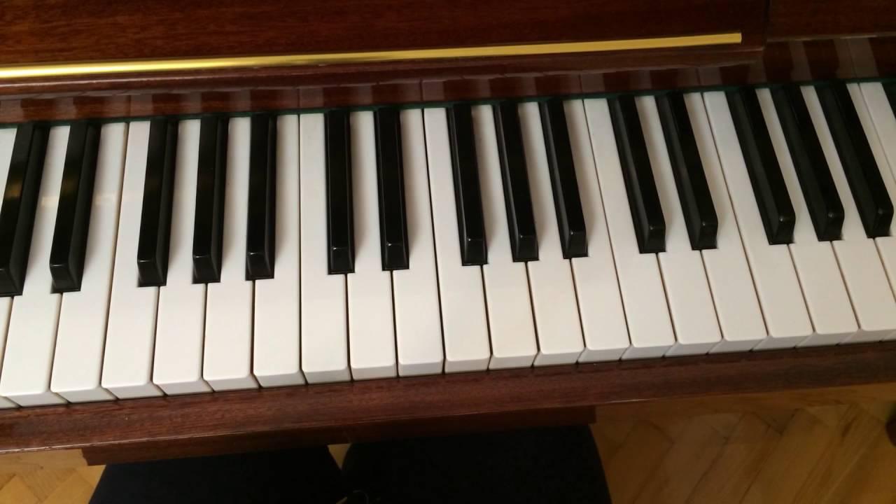 Как играть на пианино песню гравити Фолз - YouTube