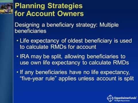 IRA Distributions - Planning Your IRA Distribution Strategy