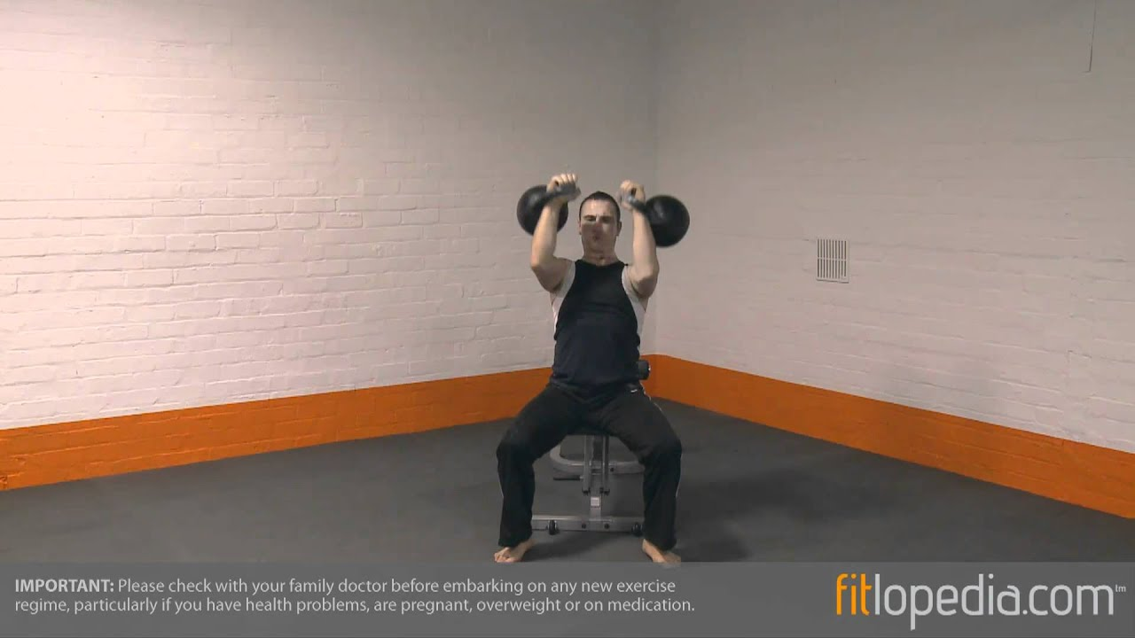 How to Do the Kettlebell Chair Press How to Do the Kettlebell Chair Press new photo