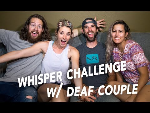🔴 WHISPER CHALLENGE WITH OUR DEAF FRIENDS [LIVE] 🔴