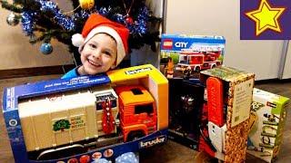 Машинки Игрушки Подарки Игорюша Разбирает Новогодние Подарки Kids Toys Video