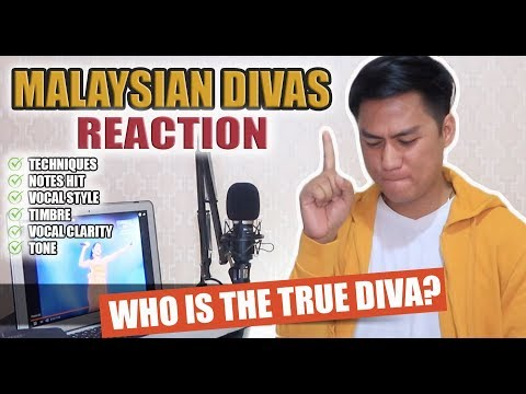 SINGER REACTS To Greatest Voices Of Malaysia (TRIBUTE)