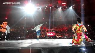 Break Dance vs Danzantes de Tijera / Espectacular Batalla Red bull bc one Latin america 2015