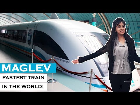 Riding Maglev – the World's fastest train in Shanghai