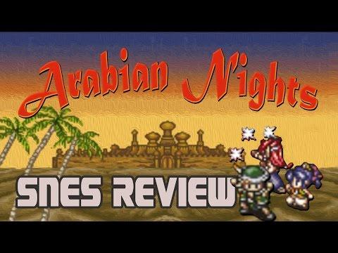 Daria Reviews Arabian Nights - An SNES RPG Best Forgotten?
