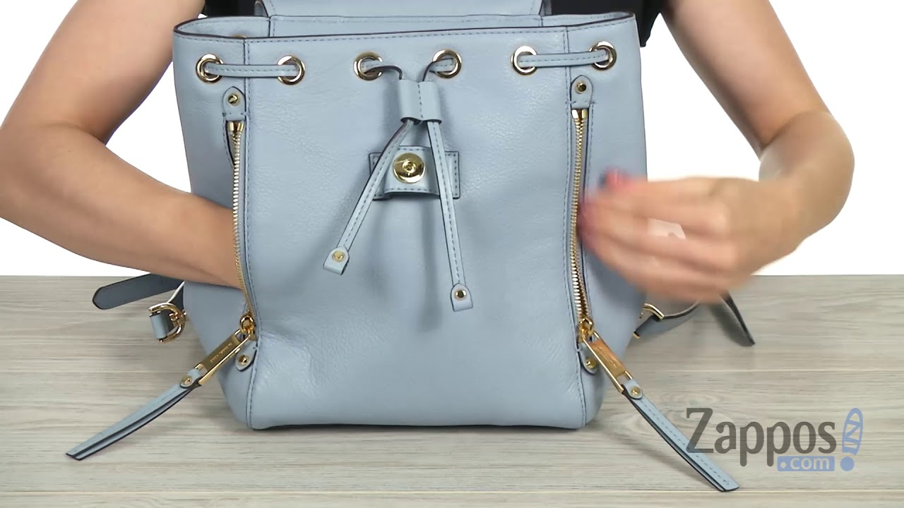 8ee35cfcc52b MICHAEL Michael Kors Evie Small Backpack SKU: 9112619 - YouTube
