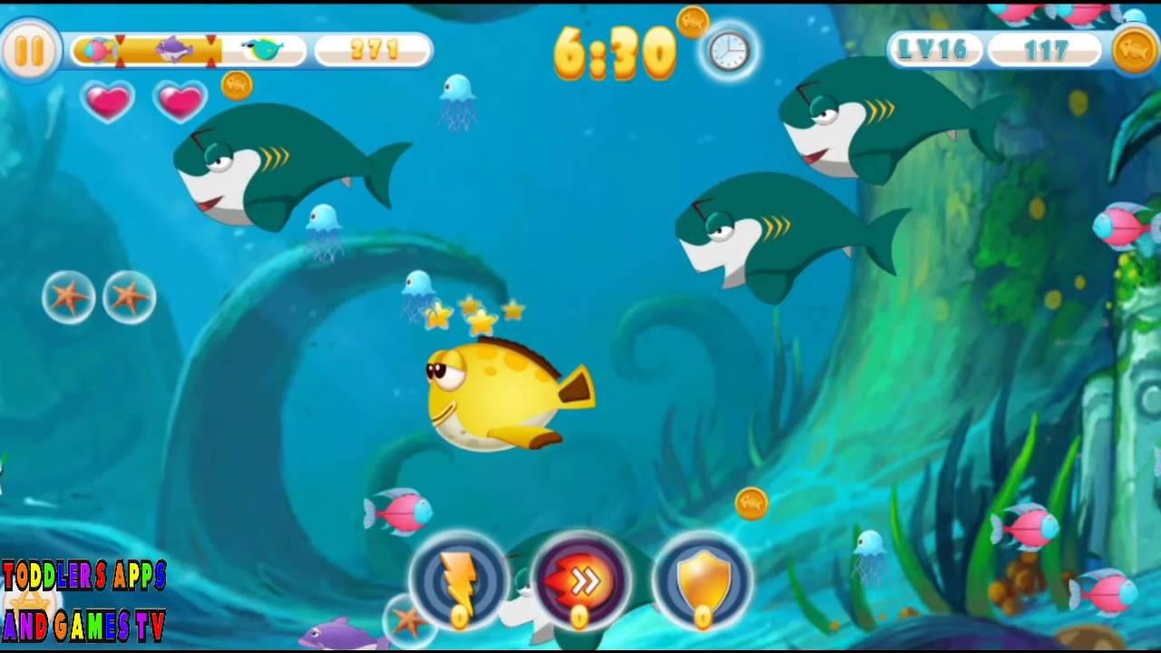 Feeding frenzy 3 android games google play games for Feeding frenzy fish