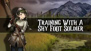 Training A Shy Foot Soldier //F4A//[Clumsy][Nervous]