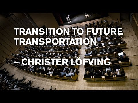 Christer Löfving: Actions for future transportation by The Swedish Transport Administration