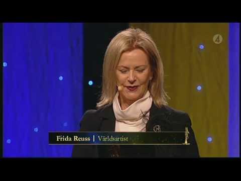 FRIDA @ Svenska Hjältar LIVE -- 14-12-2009!!!