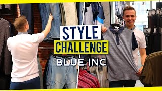 £100 BLUE INC Outfit Challenge (In Store)