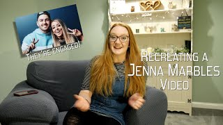 Recreating | JENNA MARBLES | Trying to See Things Without My Glasses | OBSIDIAN ELEPHANT