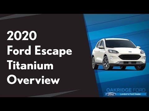 2020 Ford Escape Titanium Walkthrough