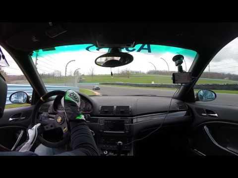 E46 M3 Chasing 996 911 - Watkins Glen International - ARPCA - A/+ Group