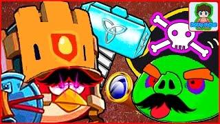 Игра Angry Birds Epic от Фаника злые птички эпик 6