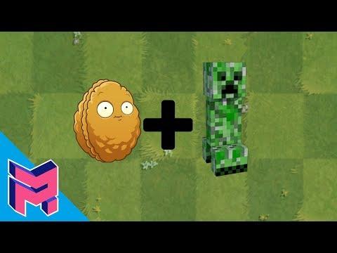 Plants vs Zombies Fusion Hack Animation ( Wall-nut + Creeper)