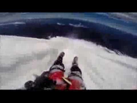 Sliding down Volcan Villarica
