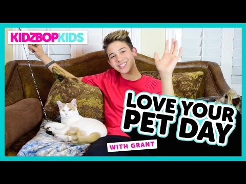 """""""Love Your Pet Day"""" with Grant from the KIDZ BOP Kids"""