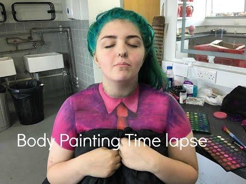 Shirt body painting