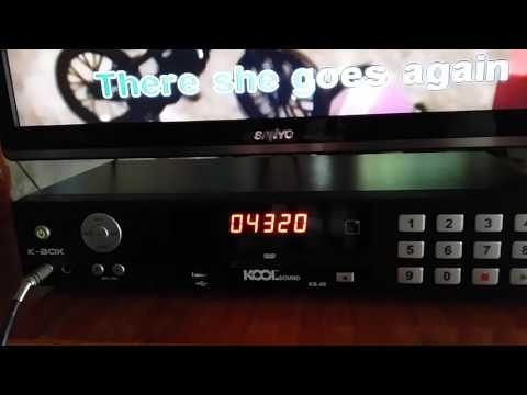 Kbox ks 40 karaoke player