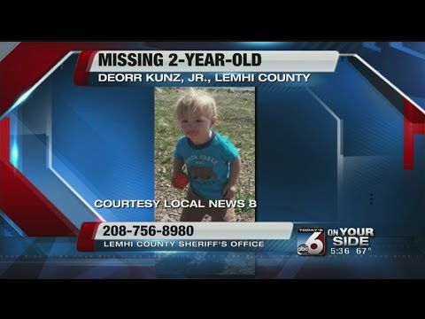 Missing toddler in Lemhi County