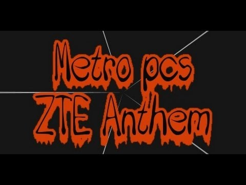 Metro pcs ZTE Anthem review (This phone sucks)
