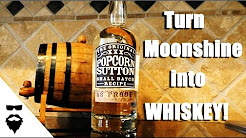 How To BARREL AGE Your Own MOONSHINE/WHISKEY!