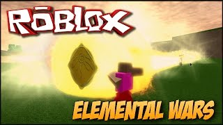 Playing Roblox (Elemental Wars) #1-the POWER of LIGHT!