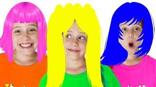 Песенка про причёски | Как красиво! Песенка парикмахера | Песенки для детей от Ба Би Бу