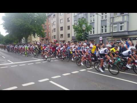 Tour De France 2017 Grand Depart Dusseldorf Day 2 Peloton 4k