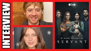 Rupert Grint & Nell Tiger Free On SERVANT | Exclusive Interview
