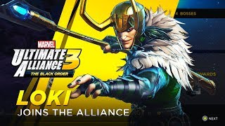 Marvel Ultimate Alliance 3: The Black Order - Unlocking Loki (How to Unlock Loki in MUA3)