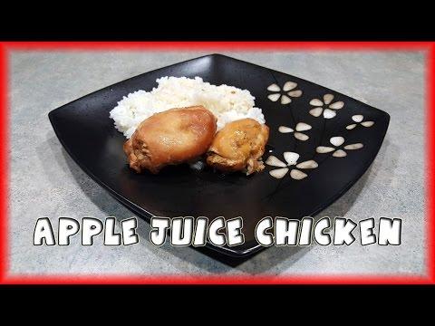 Slow Cooker Apple Juice Chicken