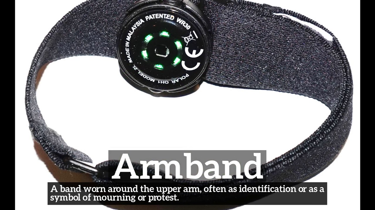 How Does Armband Look How To Say Armband In English What Is