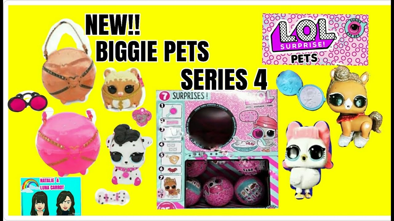 New Lol Surprise Pets Series 4 Lol Decorder Eye Spy Pets New Lol