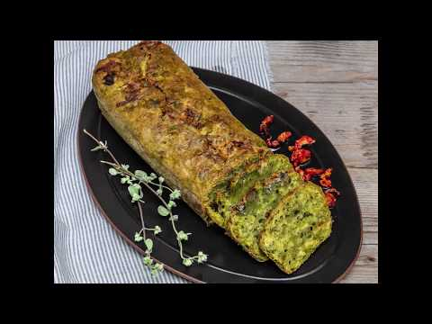 plum-cake-salé-aux-épinards,-gorgonzola-piquant,-olives-de-qualité-taggiasca