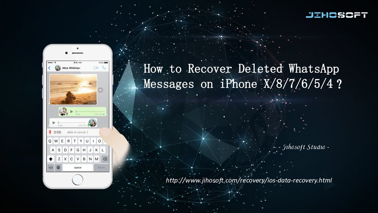 How to Recover Deleted WhatsApp Messages on iPhone?   Eraser