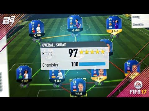 HIGHEST RATED TEAM ON FIFA! 197! | FIFA 17