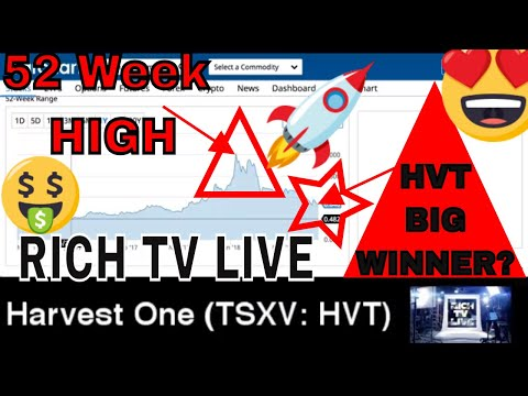 Cannabis Stocks - Harvest One Cannabis Inc. (TSXV: HVT) - RICH TV LIVE - April 11, 2018