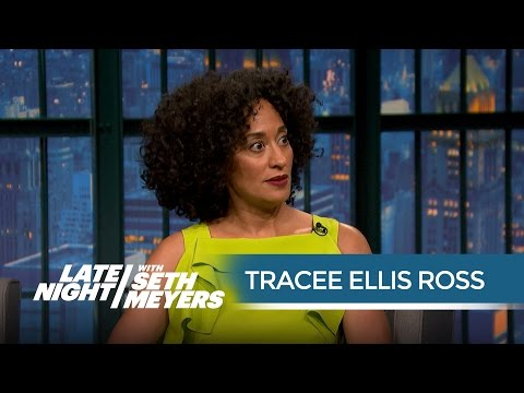Tracee Ellis Ross Talks Being Put on Blast by Kanye  Late Night with Seth Meyers