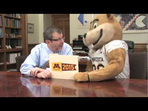 Welcome University of Minnesota Class of 2015