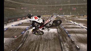 Supercross The Game ( ANAHEIM 1 SNOW TRACK Edition ) PC hd [1080p60fps]