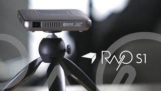 Canon Rayo S1 Mini Projector Introduction Video