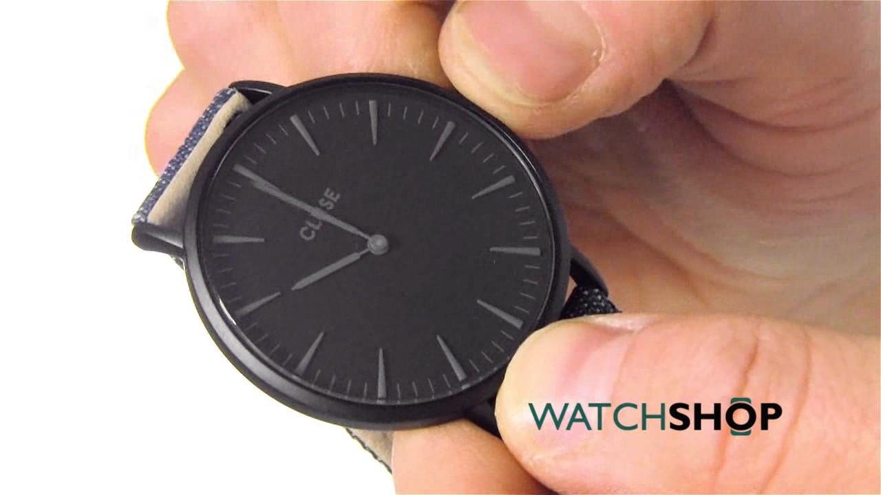 Extrêmement Cluse Ladies' La Boheme Full Black Watch (CL18507) - YouTube SE29