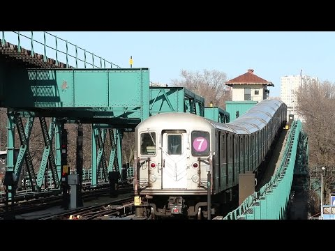 NYC Subway: IRT Flushing Line on a Sunny Saturday