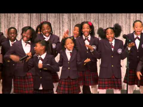 Detroit Academy Choir at Wayne State's MLK Tribute