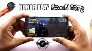 Honor Play Gaming Review & Heating test ll in telugu ll