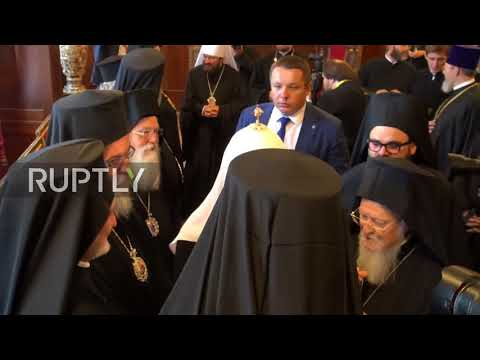 Turkey: 'Two brothers' Patriarch Kirill and Bartholomew I of Constantinople meet in Istanbul