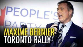 Maxime Bernier speaks at Etobicoke rally (Full Speech)