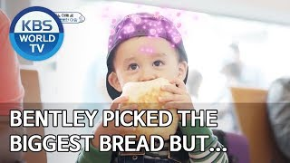 Bentley picked the biggest bread but turns out… [The Return of Superman/2019.11.03]